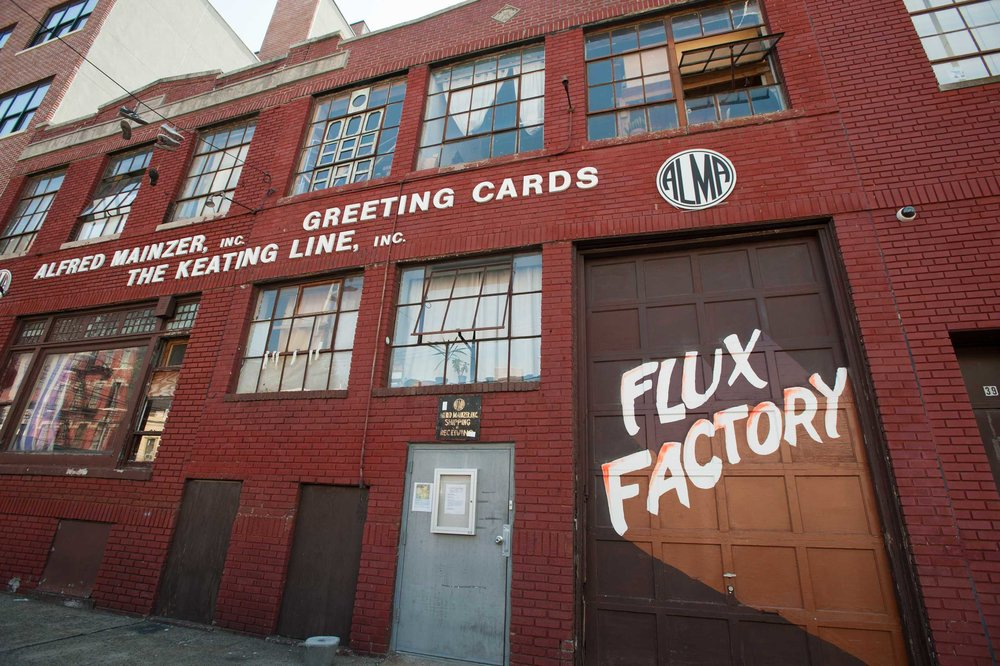 Residency: Flux Factory (NYC)