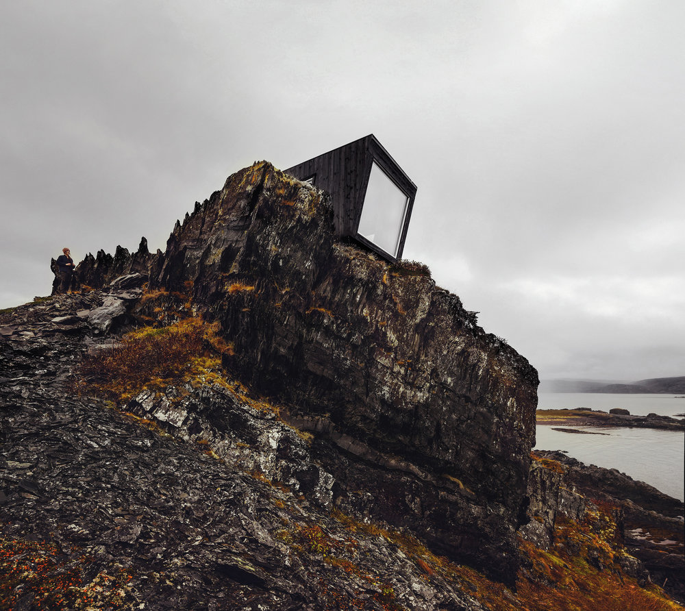 Kongsfjord Cliff shelter bivouac October 2017 - photo Tormod Amundsen © Biotope - biotope uk website img.jpg