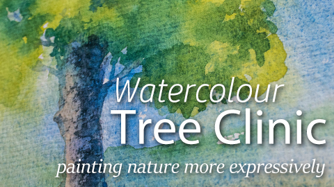 Online Watercolour Course - Tree Clinic with Angela Fehr