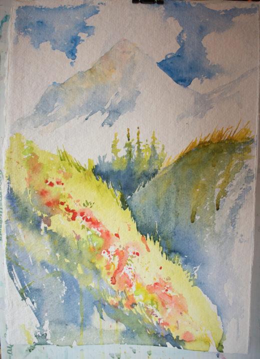 demonstration: Jasper Watercolour Workshop with Angela Fehr