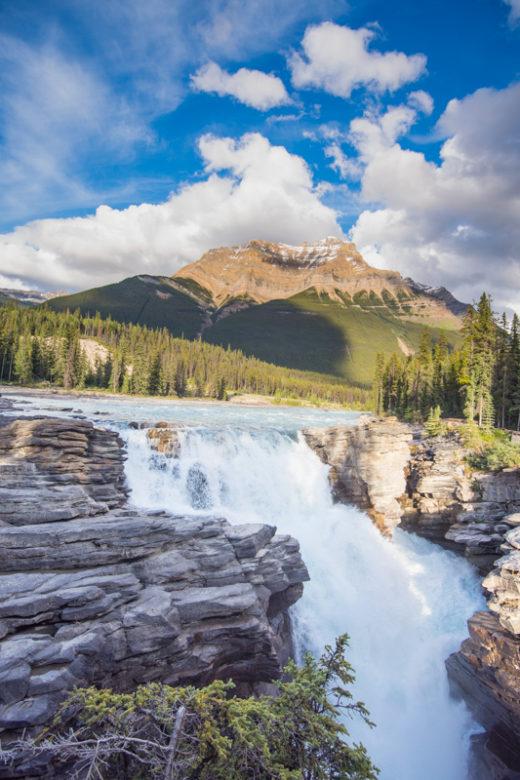 Athabasca Falls, Jasper, Canada by Angela Fehr
