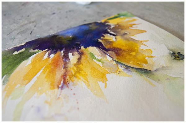 sunflower inprogress