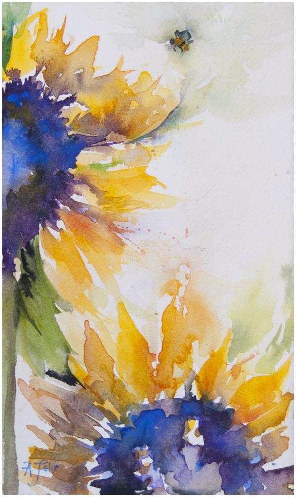 Brilliance: sunflower study | Angela Fehr