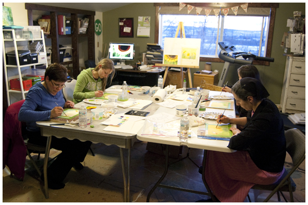 painting class 600w