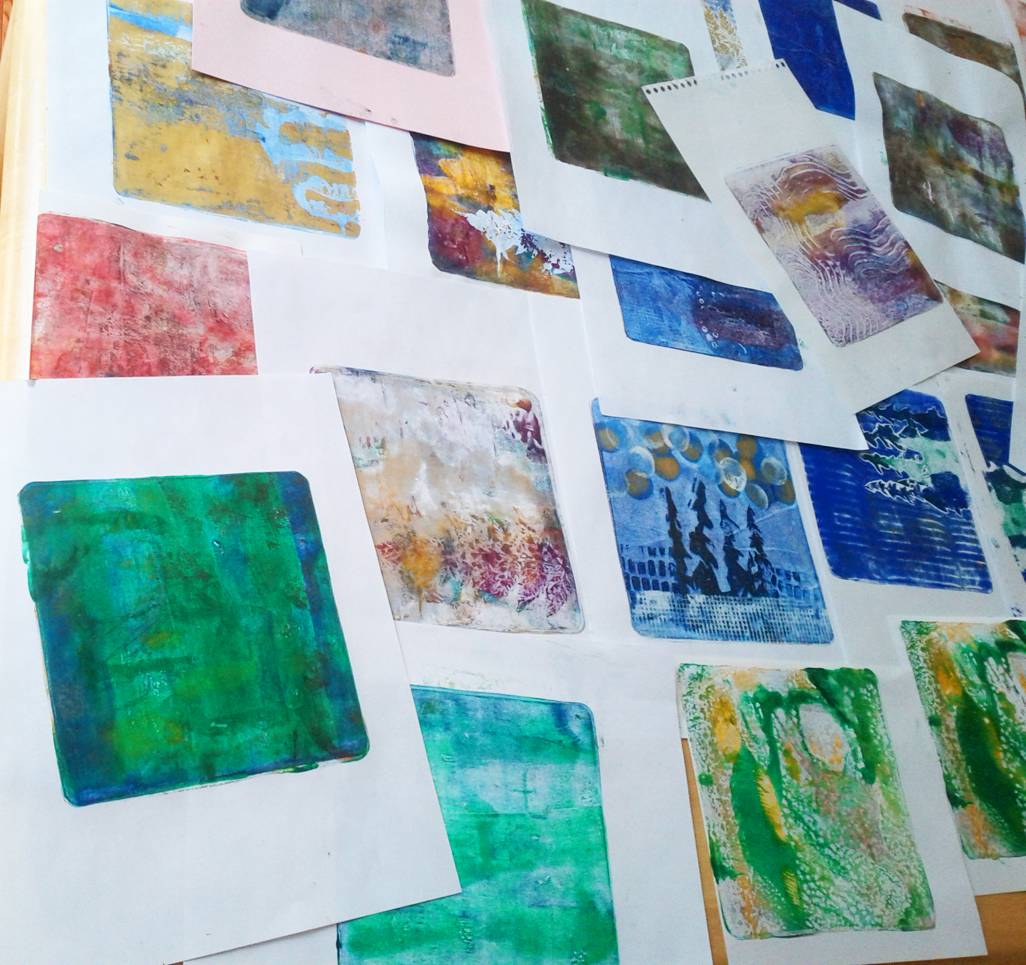 monoprints | Angela Fehr