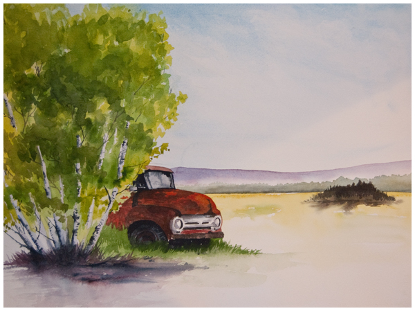 """Rusting Comfortably"" 