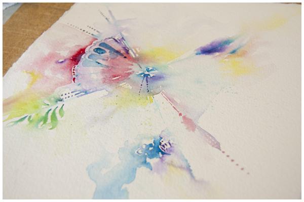 abstrACT in progress | Angela Fehr watercolors