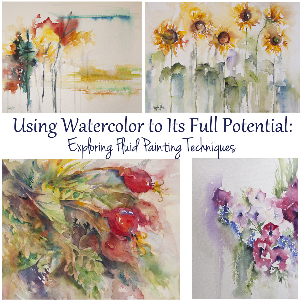 Learn to Paint Fluidly & Loosely in Watercolor | course with Angela Fehr