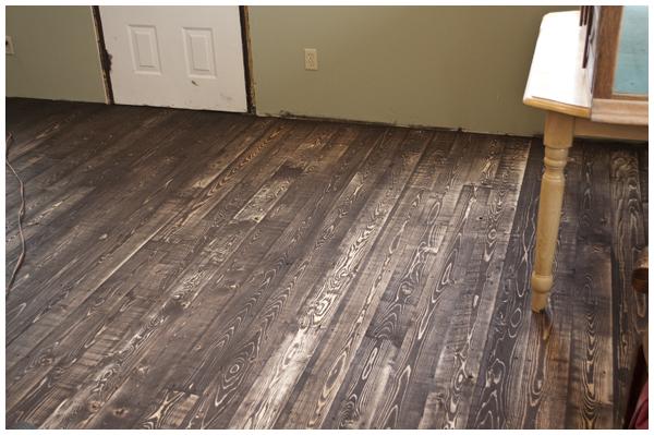 floor after sanding 600w