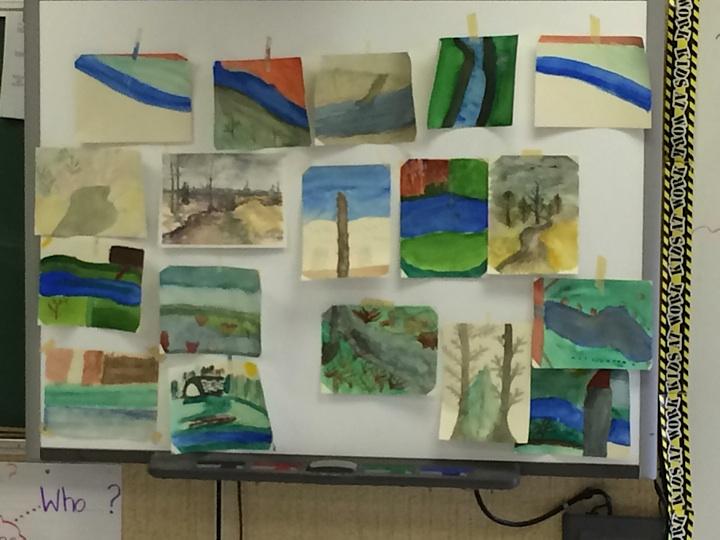 kids' art classes | AngelaFehr.com
