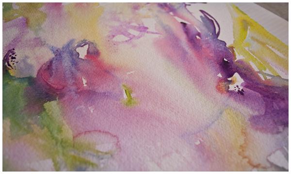 watercolor wash | Angela Fehr