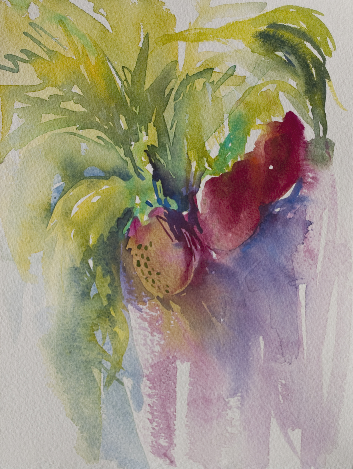 strawberry sketch | Angela Fehr watercolours https://angelafehr.com