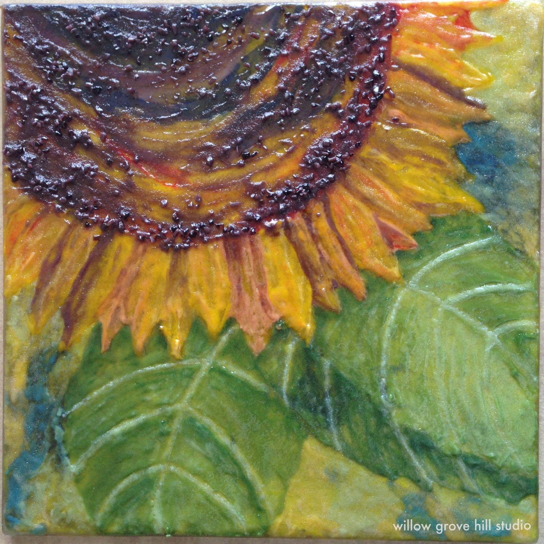 glass art by Willow Grove Hill Studio