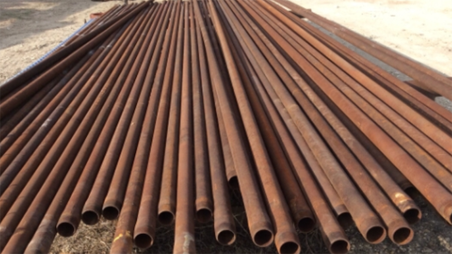 Dundee Steel pipes