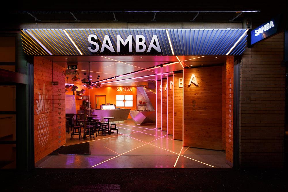 Samba Swirl