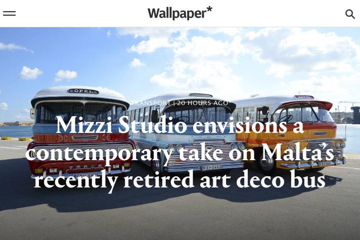 Wallpaper Malta Bus