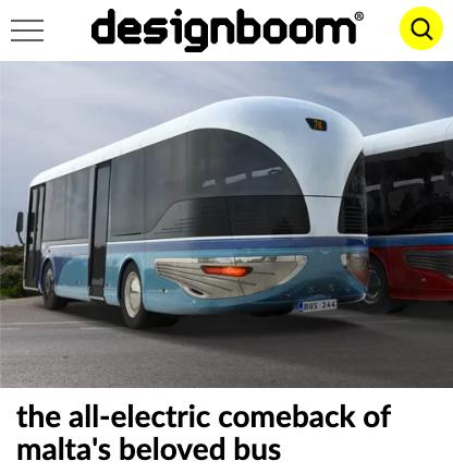 designboom malta bus