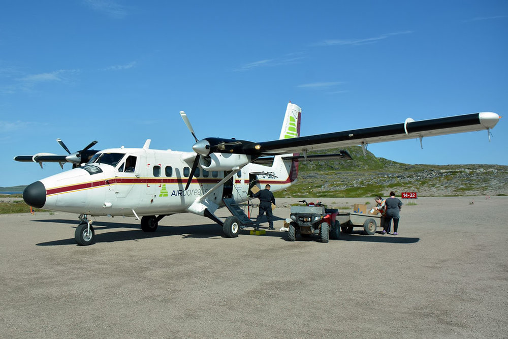 MSN 600 - DHC-6-300 C-GIED  Air Borealis (PAL Airlines), Black Tickle, NL  Gunther Pitterka Photo ©