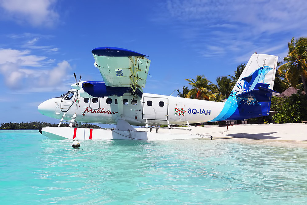 Maldivian Seaplane Photo ©