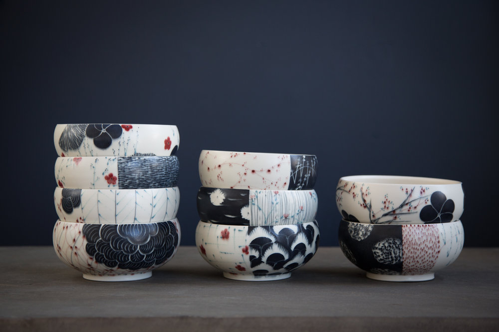 Porcelain Bowls Feb. 2019
