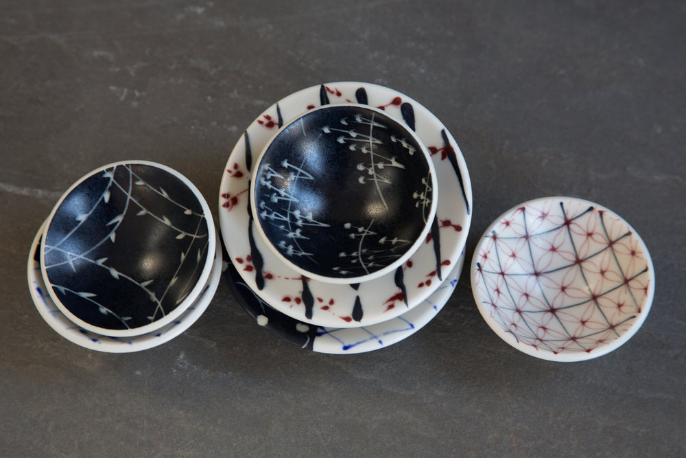 Porcelain Mini Bowls