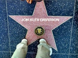 jon alexs walk of fame star