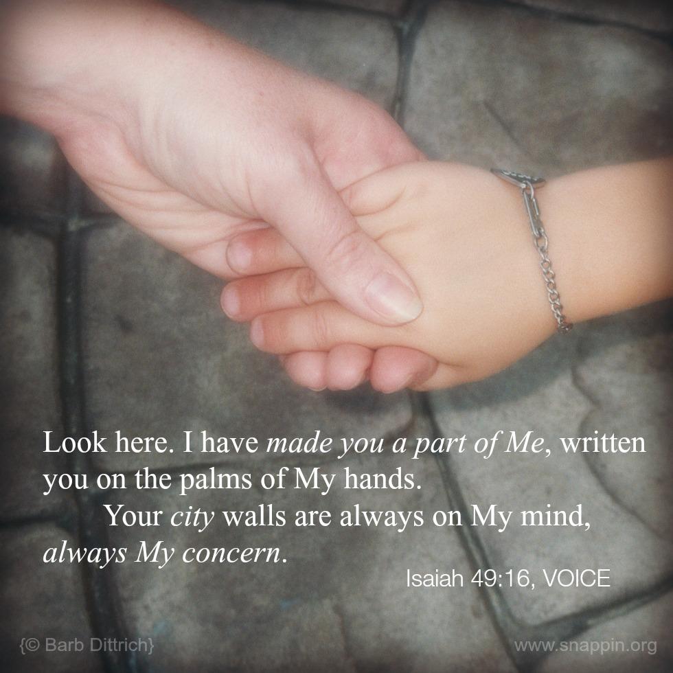 Isaiah 49 16