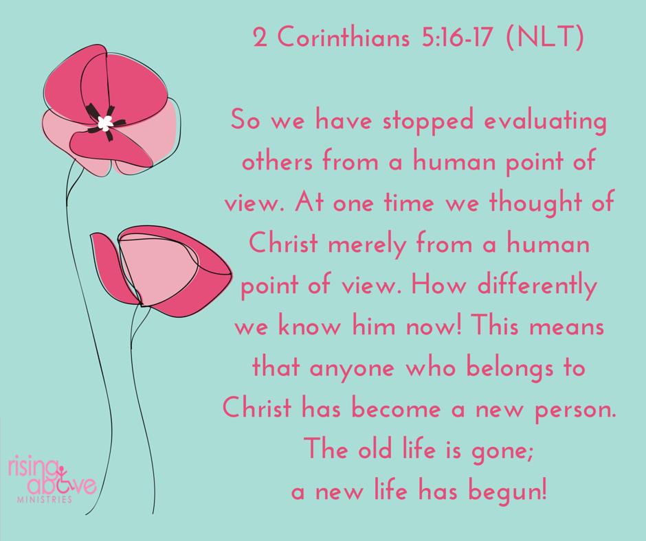 2 Corinthians 5-16-17