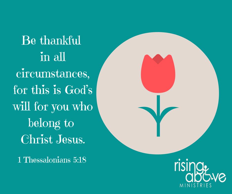 I Thessalonians 5-18