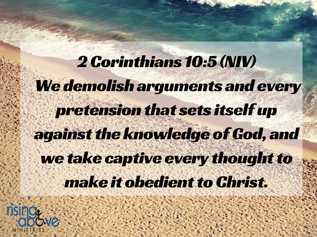 2 Cor. 10-5