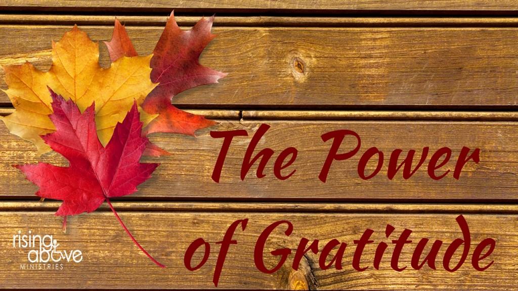 The Power of Gratitide (10)