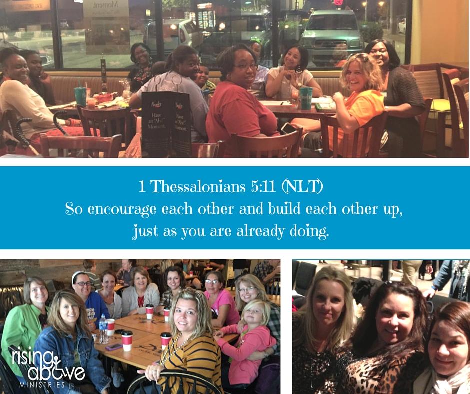 1 Thessalonians 5-11 (NLT)