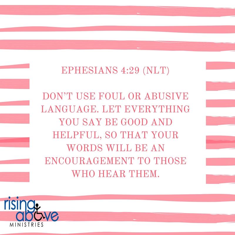 Ephesians 4-29