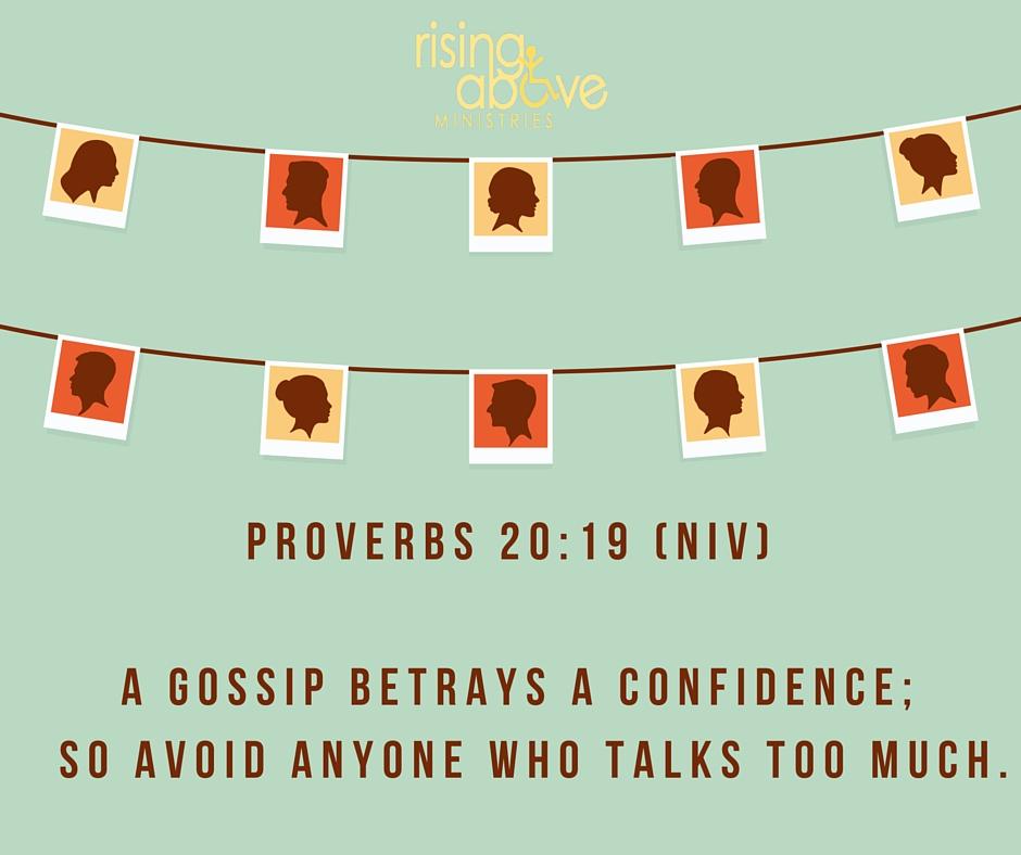 Proverbs 20-19