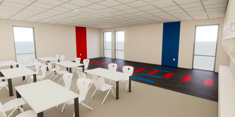 Upper Level Education Space