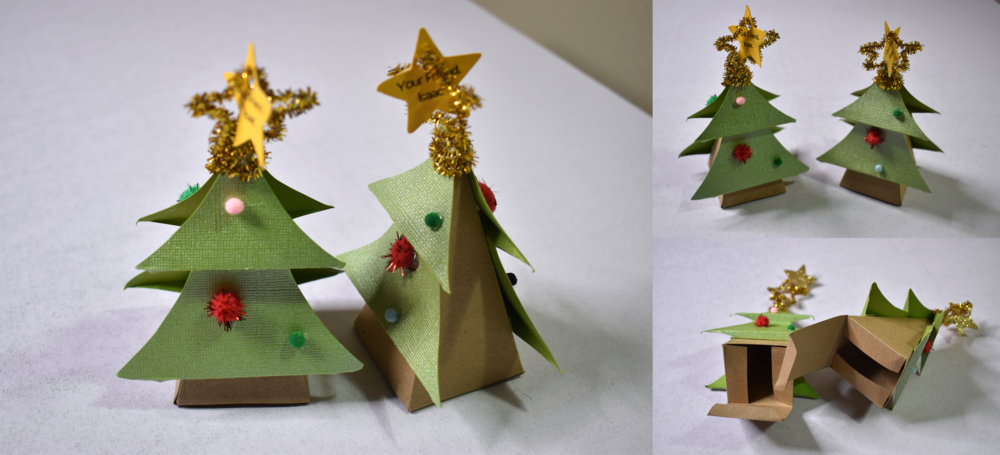 Christmas Tree Box Favor