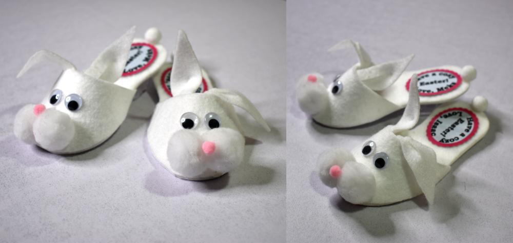 Bunny Slipper Favor