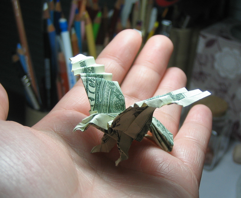 Eagle Dollar Bill Origami Moneygami