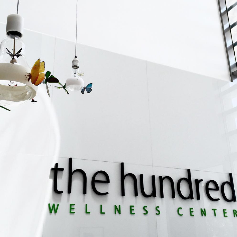 The Hundred Wellness Center - Branding & Web Design