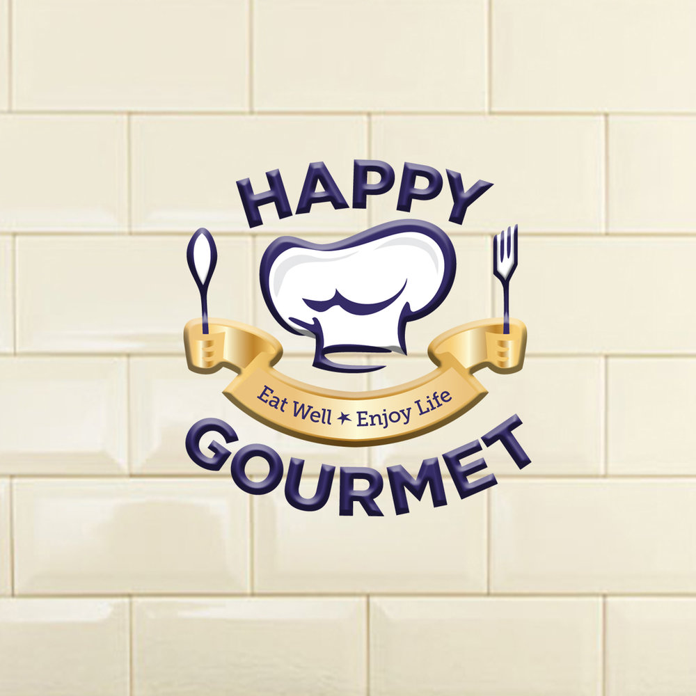 Happy Gourmet - Branding and Website Design