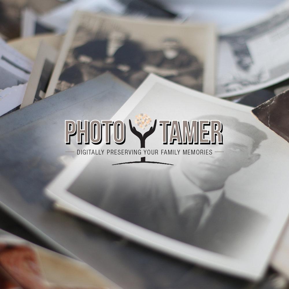 Photo Tamer - Branding and Website Design