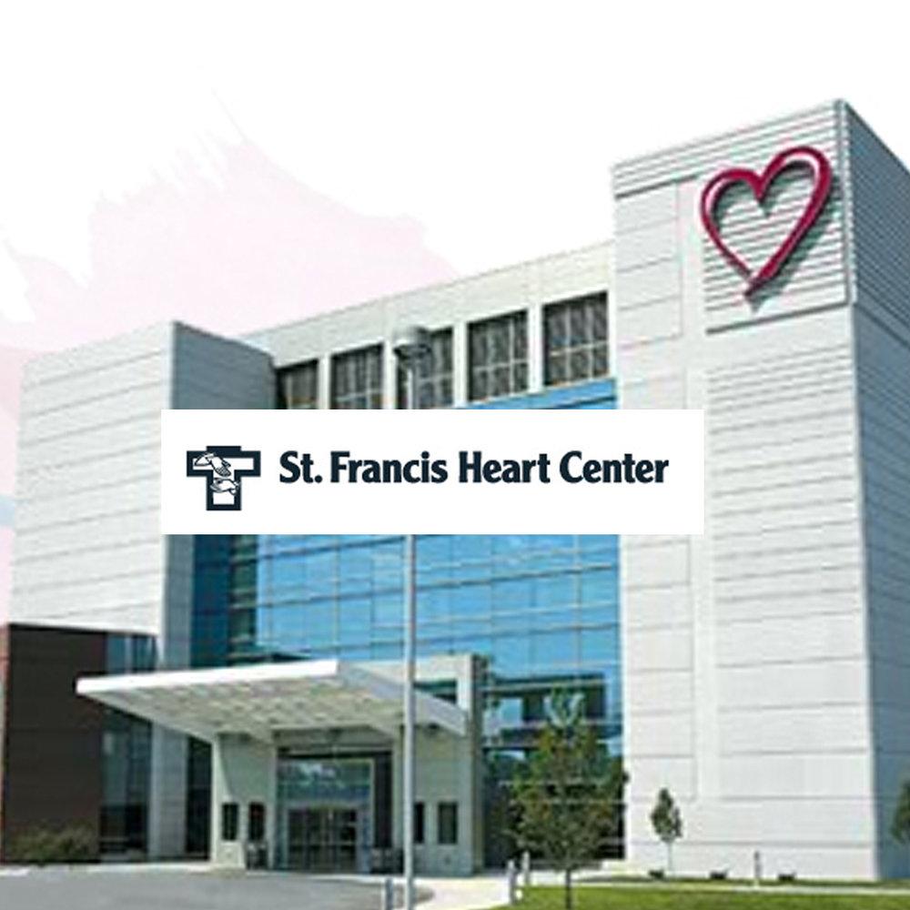 St. Francis Health Heart Center - Website Design