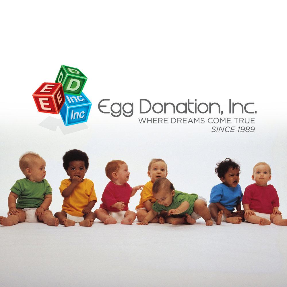 Egg Donation, Inc. - Branding and Website Design