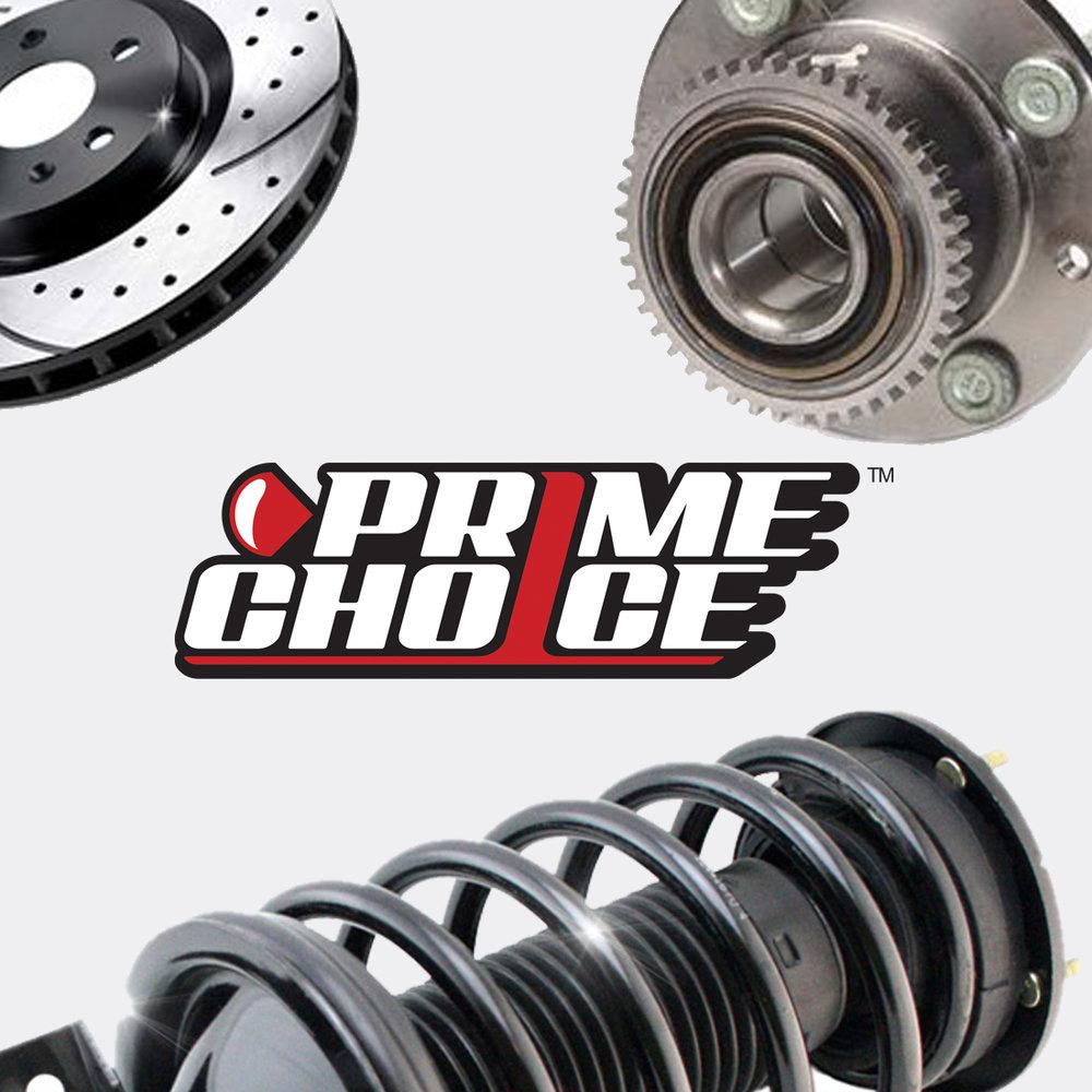 Prime Choice Auto Stores - Website Design