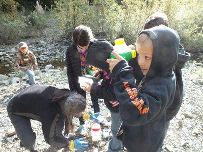 Van Duzen River - More Kids in the Woods