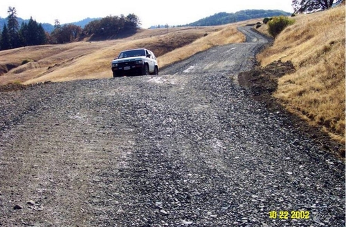 Out sloped Roads Increase Groundwater Storage