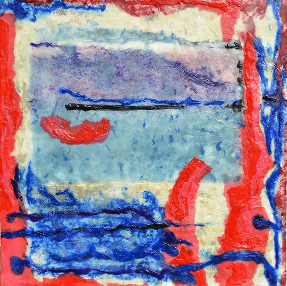 Carolyn Berry, Dancing Blue Lines