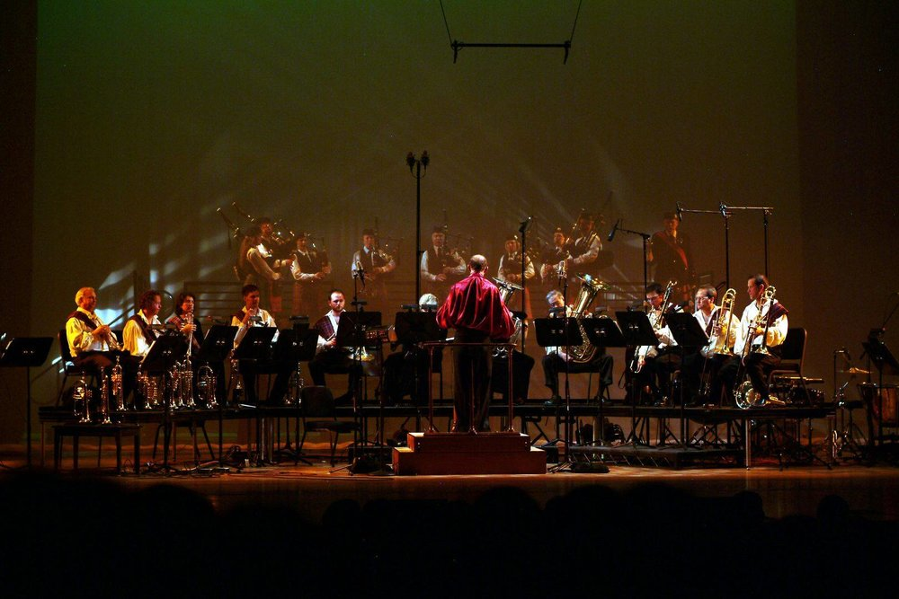 The Denver Brass plays at the Newman Center March 2006 |  Photo