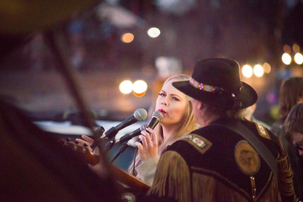 Live musical performances at First Friday Colfax Art Crawl 2018 |  Photo