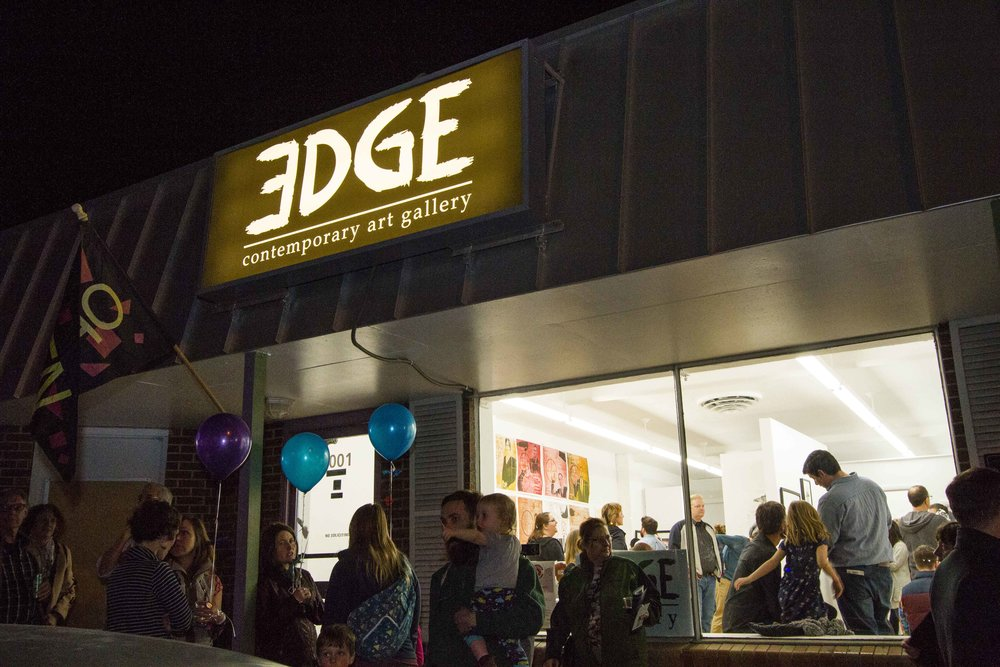 Edge Gallery hosts an exhibition at First Friday in 40 West Arts |  Photo